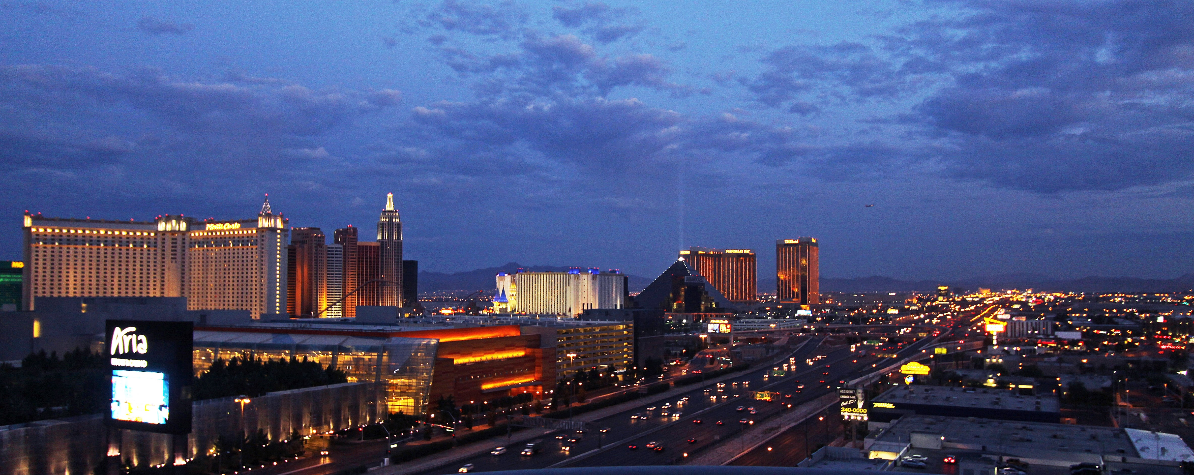 THE MARTIN LAS VEGAS 17th floor strip view