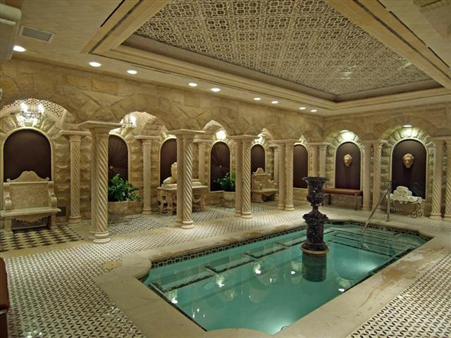 One Queensridge Place Luxury Condos Indoor Pool
