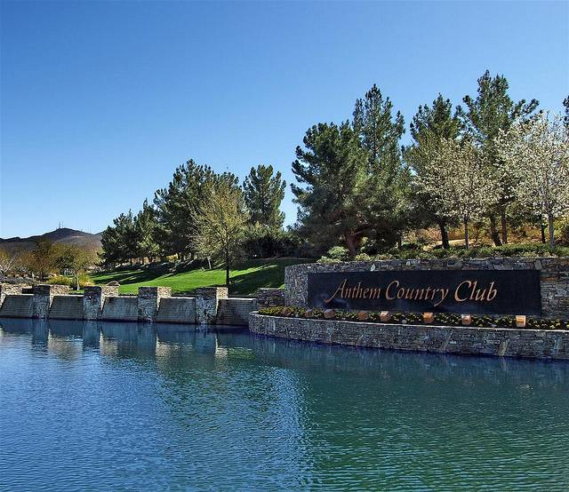 Entry to Anthem Country Club