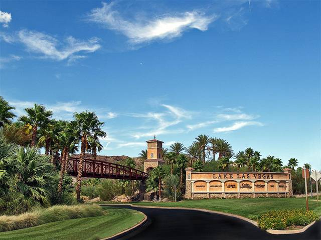 Lake Las Vegas Entrance