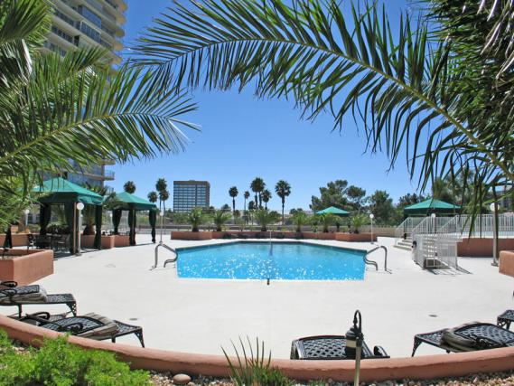 Regency Towers Pool Area