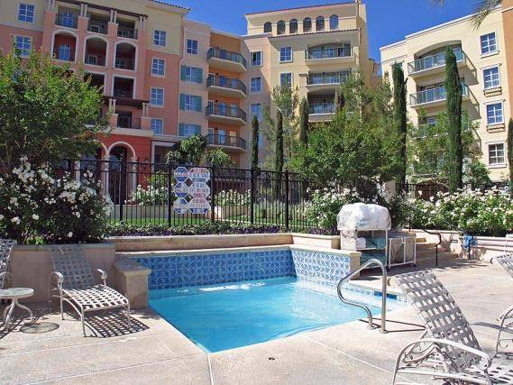 Viera Condo Pool Area Lake Las Vegas